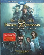 Movie Blu-ray/DVD - PIRATES OF THE CARIBBEAN DEAD MEN TELL NO TALES - Pre-owned