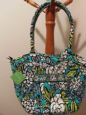 VERA BRADLEY LIMITED ED SWEETHEART SHOULDER BAG ISLAND BLOOMS RETIRED  NWT