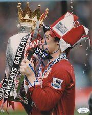 Manchester United Wayne Rooney Autographed Signed 8x10 Photo JSA COA #1