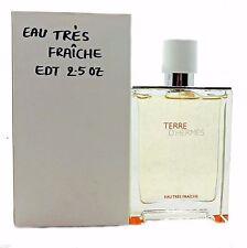 TERRE D'HERMES EAU TRES FRAICHE EAU DE TOILETTE SPRAY 75 ML/2.5 FL.OZ. (T)