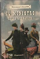 Giovanni Ansaldo Il ministro della buonavita Longanesi 1949