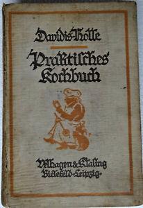 Altes Kochbuch 1929, Henriette Davidis-Holle, Praktisches Kochbuch... siehe Foto