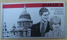 1981 Jamaica stamp booklet Charles & Diana Wedding