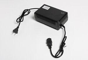 48 Volt DC charger PC Plug f gel SLA AGM battery electric scooter ebike e-Atv