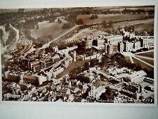 Windsor Castle Airview RP Old Postcard Real Photograph English Series Aerofilms