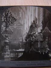 Stereoscope Photograph  Belgium ST Paul's Cathedral Antwerp
