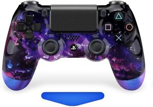 Space Enigma Lava UN-MODDED Custom OEM Controller for PS4 Playstation CUH-ZCT2U