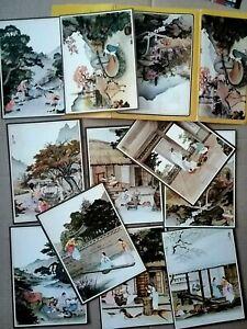 Korea SEOUL, Postcards, 10 Unused cards, Printed by Hyun Dae Press
