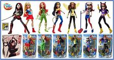 DC Super Hero Girls 7 Doll Set SDCC Katana Supergirl Batgirl Wonder Woman Harley