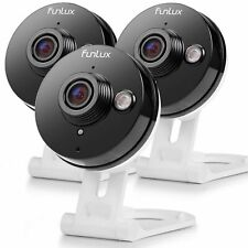 Funlux® 3 720P WiFi IP Indoor Home Security Camera Two Way Audio NightVision -CR