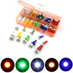 40Pcs T5 T10 LED Bulb Package Kit For Car Dash/Turn Signal/Tail /Parking Light
