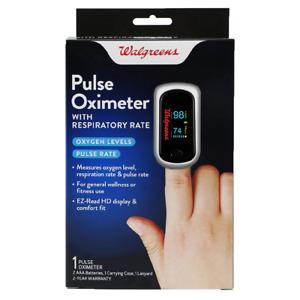 Walgreens Pulse Oximeter Pulse Respiratory Rate ChoiceMMed Portable Fingertip