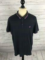 TED BAKER Polo Shirt - Size 5 XL - Navy - Great Condition