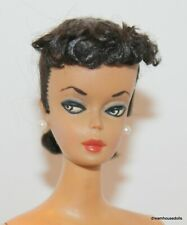 #1 Barbie Doll, Black Ponytail Doll W/ Certificate Of Authenticity