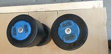 PAIR OF 38KG HAMMER STRENGTH DUMBBELLS Commercial Gym equipment