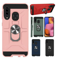 For Samsung Galaxy A20S Shockproof Hybrid Rugged Kickstand Armor Hard Case Cover