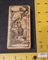 Ant Transfer Rubber Stamp GODDESS Fairy Angel Mother Children Victorian RARE