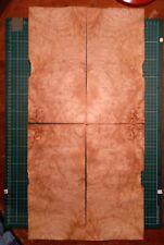 Sweet Chestnut Burr Veneer Sheets X 4.
