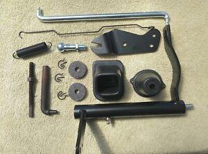 1968 - 74 CHEVY NOVA Clutch Z Bar Bellcrank Push Rod Spring Boot Frame Pivot KIT