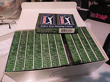 GOLF Playing Cards 2 per pack Brand New Poker 24 total MINT Unused