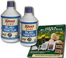 2x 1000ml Klaus BLU acciacchi per acqua potabile-Disinfezione @ @ @heka: 2x art. 23212
