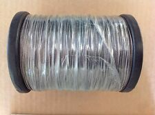 316 grade Stainless Steel wire 0.8 mm nylon coated x 100 mtrs Rated @ 50 kg