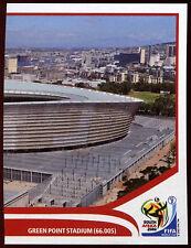 Panini FIFA 2010 World Cup sticker #7 Green Point Stadium
