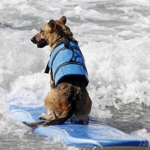 Oxford Breathable Mesh Pet Large Dog Life Jacket Summer Swimwear Puppy Life Vest