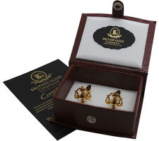 Shaped Scales of Justice Cufflinks Presented in a Box X2N010