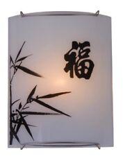 Chimaira Applique Lampada a parete Disegno Cinese Orientale Globo 41050-1
