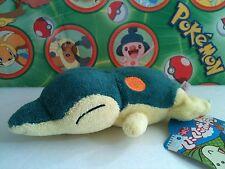 Pokemon Plush Laying Cyndaquil KutaKuta bean Stuffed figure Kuta Tomy doll toy