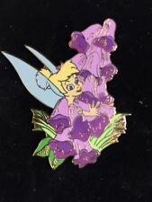 Disney Fantasy Flowers Series Tinker Bell LE 250 Peter Pan Tinkerbell Pin