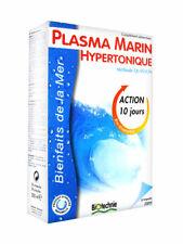 ♡♡ Biotechnie♡♡ Lot de 2 Plasma Marin Hypertonique 20 Ampoules - Méthode Quinton
