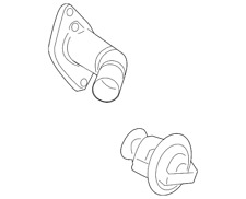 Genuine GM Thermostat Housing 12622316