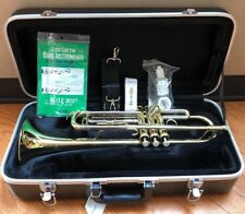 NEW BLESSING BTR1287 STUDENT TRUMPET WITH CASE & MOUTHPIECE INCLUDED!