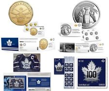 Toronto Maple Leafs Coin Pack, Stanly Cup Coin Pack & Toronto Maple Leaf Stamps