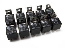 10 pcs 12 Volt 60A Automotive Relays 60 Amp Metal Mounting Tab SPDT HORN HID +