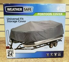 *Bass Pro Shops Weather Safe Pontoon Cover Brand New Sealed Universal Fit to 24'