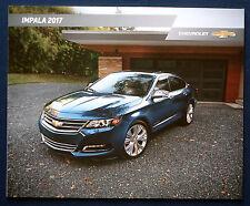 Prospekt brochure 2017 Chevrolet Chevy Impala (USA)