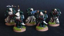 Pro painted Warhammer 40k Dark Angels Veteran squad miniatures