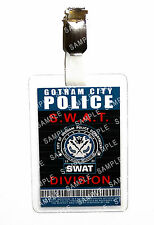 Batman Gotham Police SWAT Division ID Badge Cosplay Prop Costume Halloween
