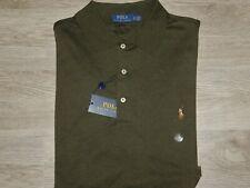 Polo Ralph Lauren Polo Shirt Classic Soft Cotton Big & Tall Pony Logo $98 Green