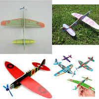 12x Flying-Gliders Planes Aeroplane Party Bag Fillers Children Kids Toys-ModelMA