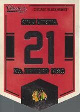 2012-13 Classics Signatures Banner Numbers #2 Stan Mikita SP - NM-MT