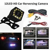 Universal Wasserdicht 120° Rückfahrkamera 12 LED Auto Kamera HD CCD Nachtsicht
