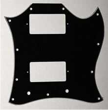 Goeldo XSM3B Pickguard für Gibson® SG® Custom, schwarz, 3-lagig