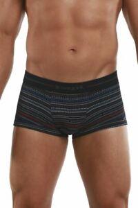 Papi 554569-968 Pencil Stripes Brazilian Trunks Color Black-Blue