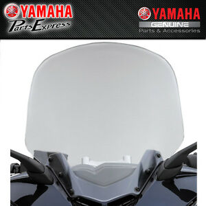 NEW 2009 - 2021 YAMAHA ZUMA 125 YW125 OEM WINDSHIELD W/ HARDWARE ABA-32S06-00-00
