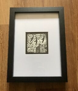 'Swift' - Framed and Mounted Bird Illustration by Richard Allen