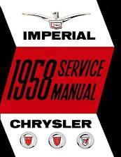 1958 Chrysler Imperial 300 New Yorker Shop Service Repair Manual Book OEM Guide